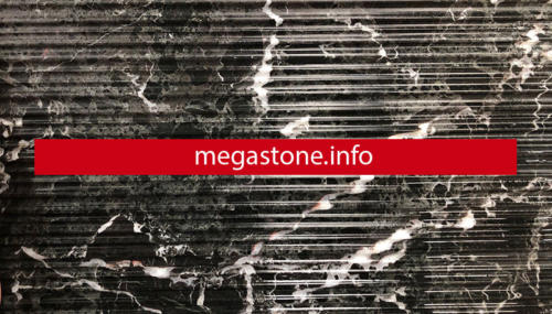 Black Petrol Marble with scratches