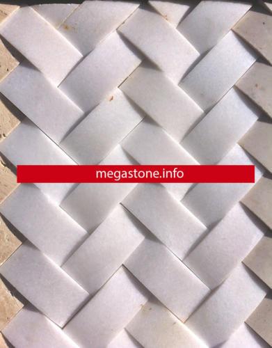 White hassar marble